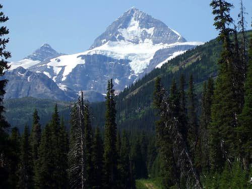 NE face of Mount Sir Alexander