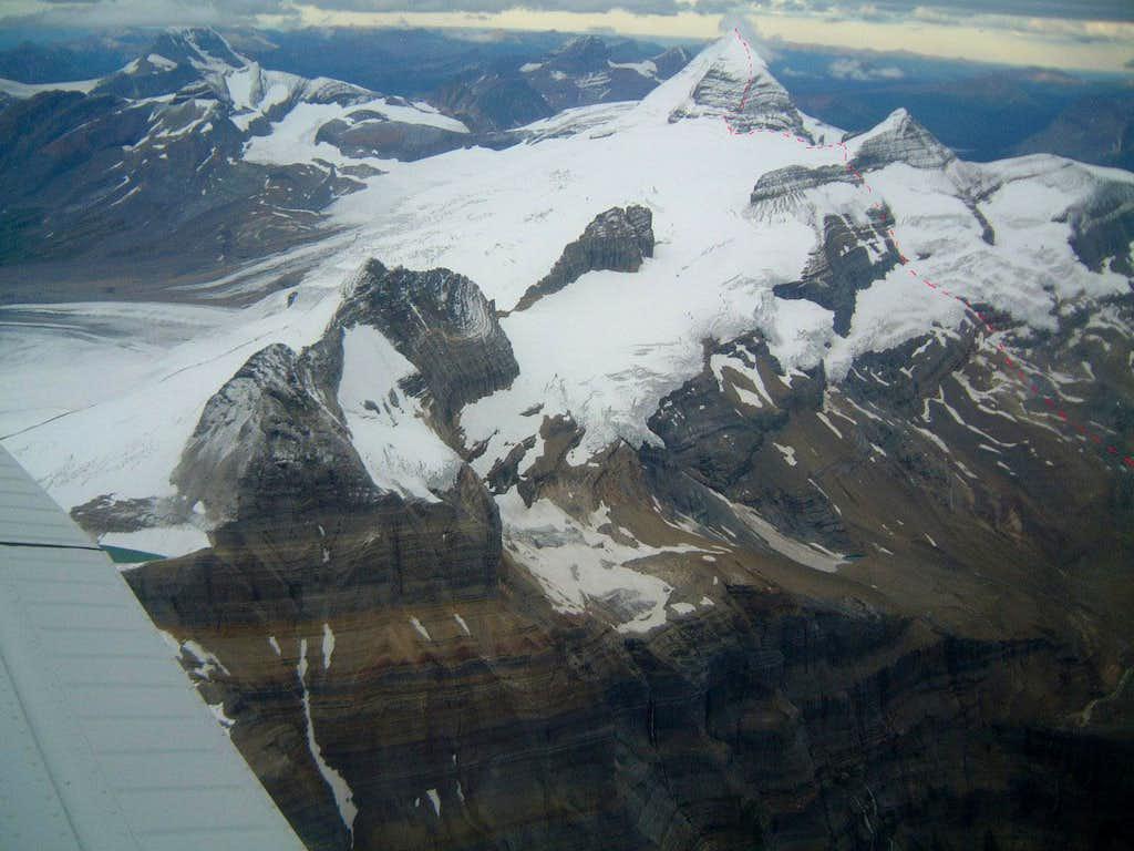 SW face of Mount Sir Alexander