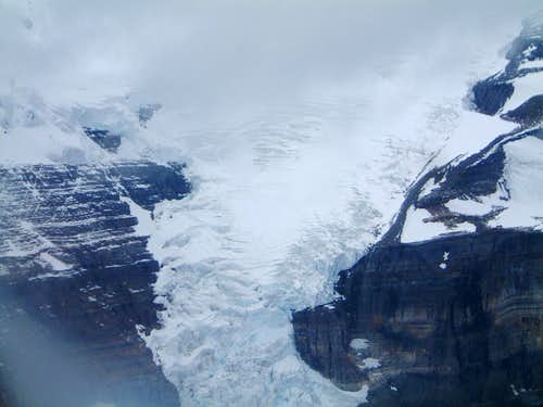 Icefall SE of Mount Sir Alexander
