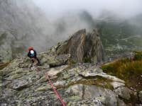 On the NE ridge of the Spazzacaldera
