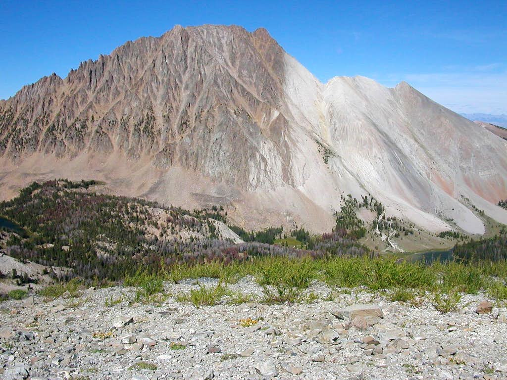 Castle Peak from 10,400 ft