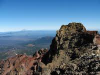 North Sister summit pinnacle