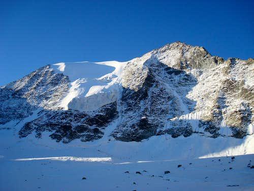 North Face from upper glacier basin