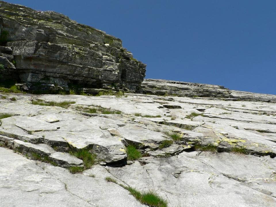 on the piodata to the south ridge