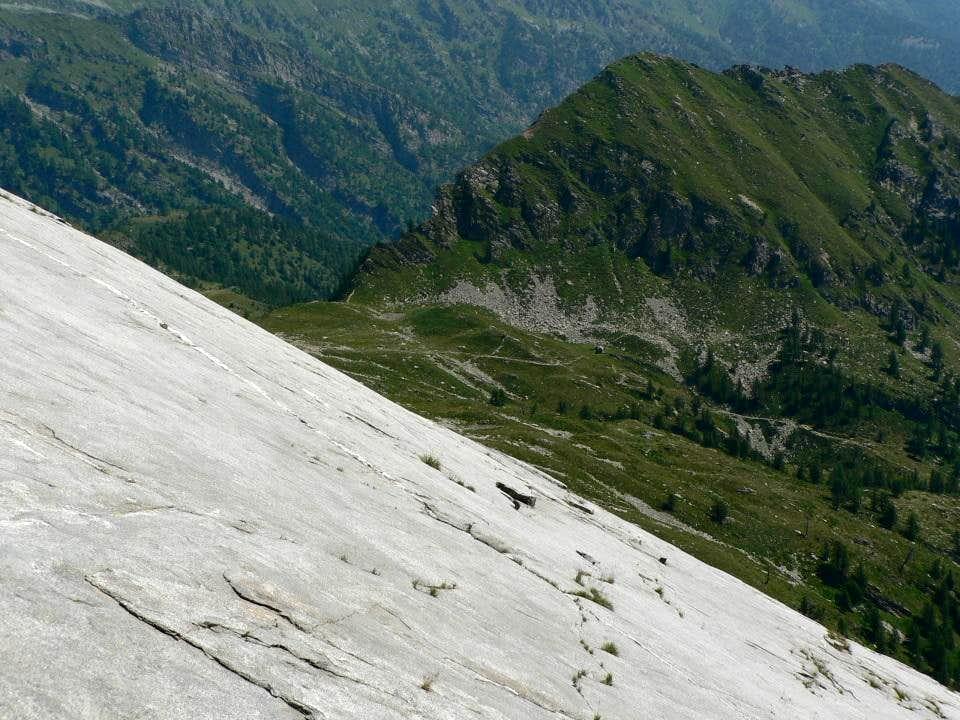 view to Fontanalba Pass