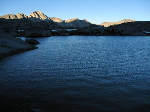 Thunderbolt Pass lake