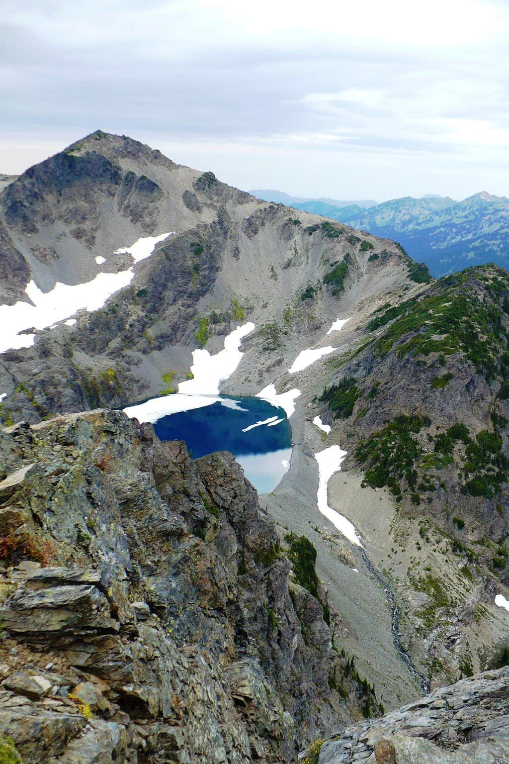 Claywood Lake from Mt. Fromme