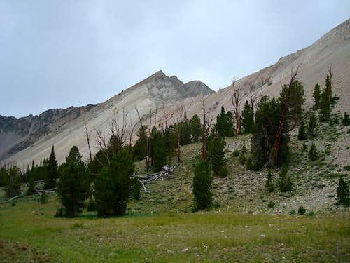 East Ridge from Iron Basin