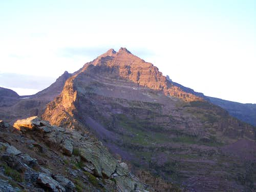 Gunsight Mountain