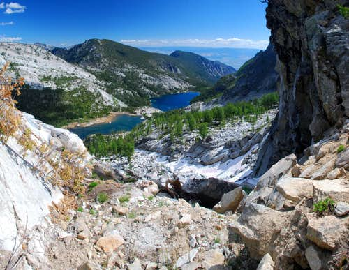 Canyon and Wyant Lakes