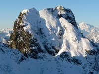 Mount Pedum in winter