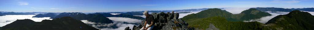 Merry Widow Summit Panorama