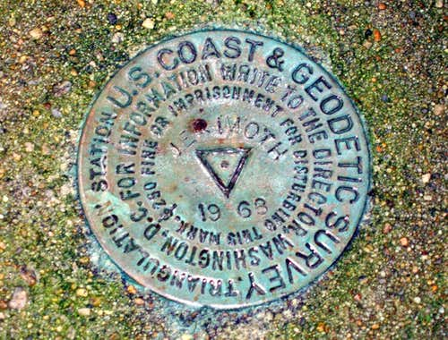 Geologic marker for Jerimoth Hill