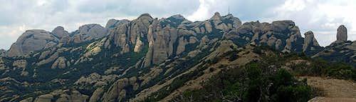 Montserrat - Sant Jeroni group