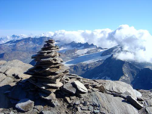 Albaron the summit