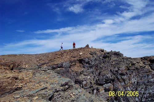 West Face Route Gould