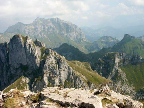 Dent d'Oche - the summit with...