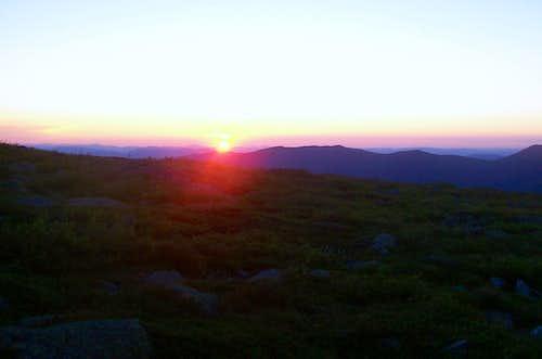 Alpine Garden Sunrise