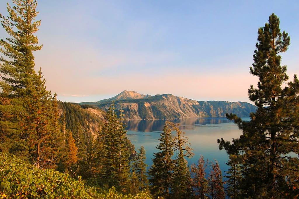 Mt. Scott and Crater Lake from the NW