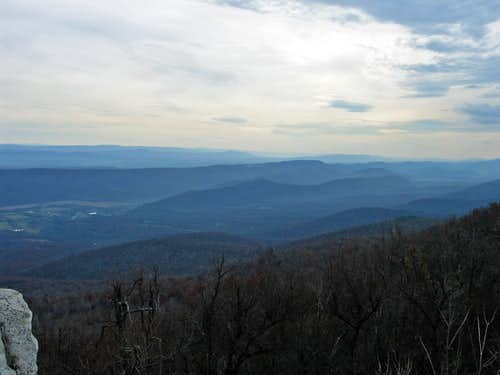 Dan s Rock overlook