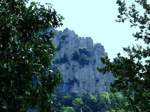 Seneca Rocks - Traffic Jam