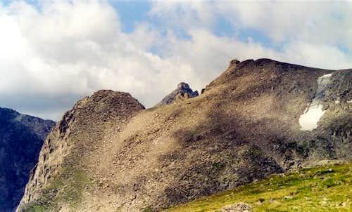 The siren Navajo Peak summit...
