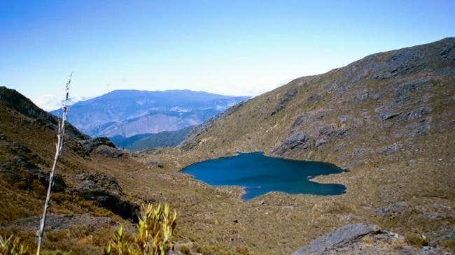 Lago Chirripo, the highest...