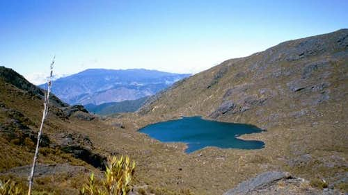 Lago Chirripo, the highest...