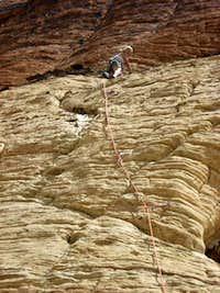 Man's Best Friend-Lead Climb
