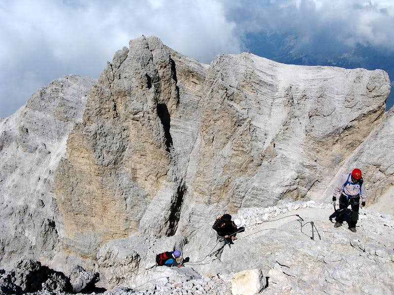 View towards Cristallino d'Ampezzo...