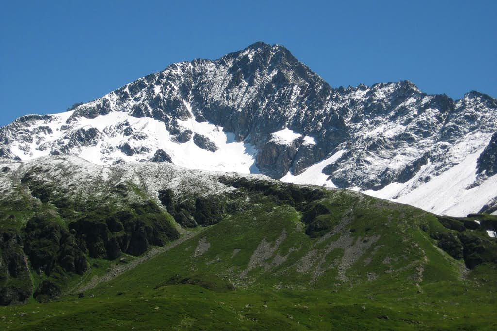 Mont Tondu West Face
