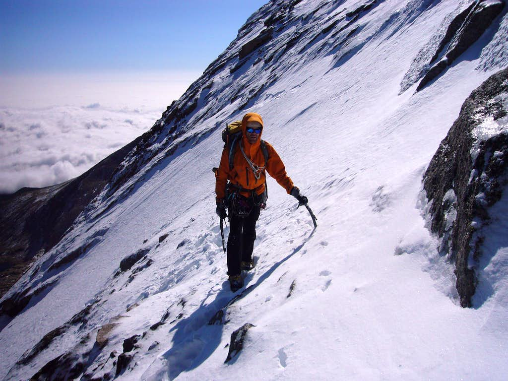 Upper Slopes of North Face