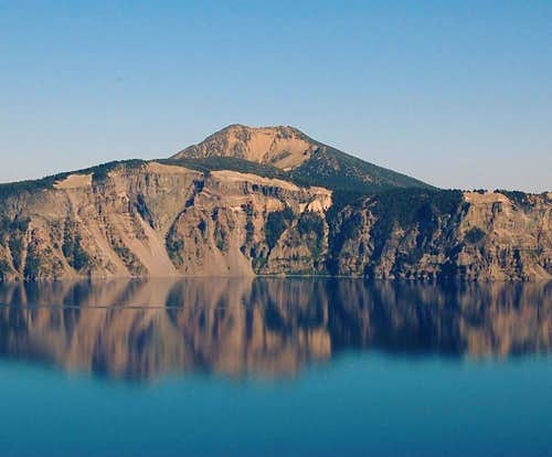 Mt. Scott and Crater Lake