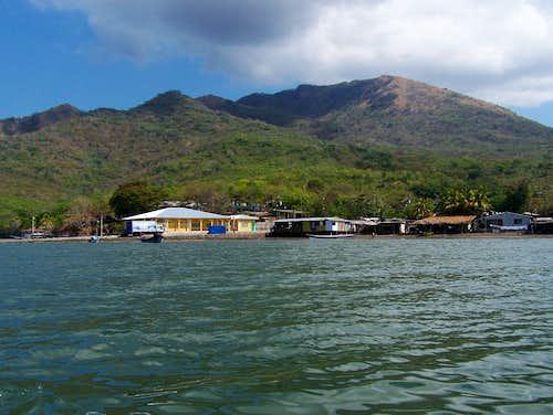 Zacate Grande from Golfo de Fonseca