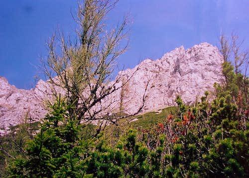 Heukuppe, Rax Alpen's highest peak. Austria.