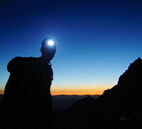 Temple Crag, Mt Sill