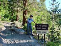 Hilton Lakes Trail Head