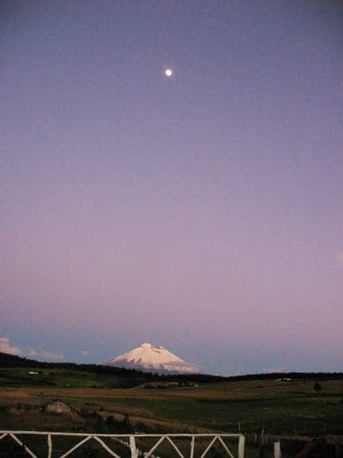 Luna and Cotopaxi