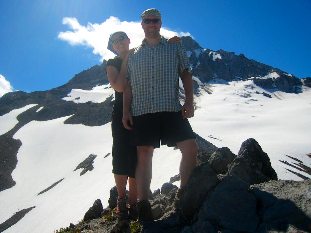 Wife and I on Cathedral Ridge