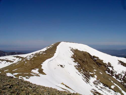 Backcountry Skiing Jicarita Peak