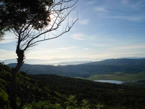 Volcan Las Viboras - Atescatempa Lagoon : Photos, Diagrams