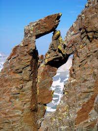 SW ridge on Sneffels