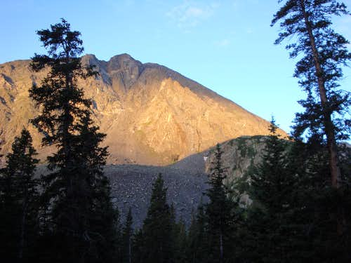 Sunrise on Quandary