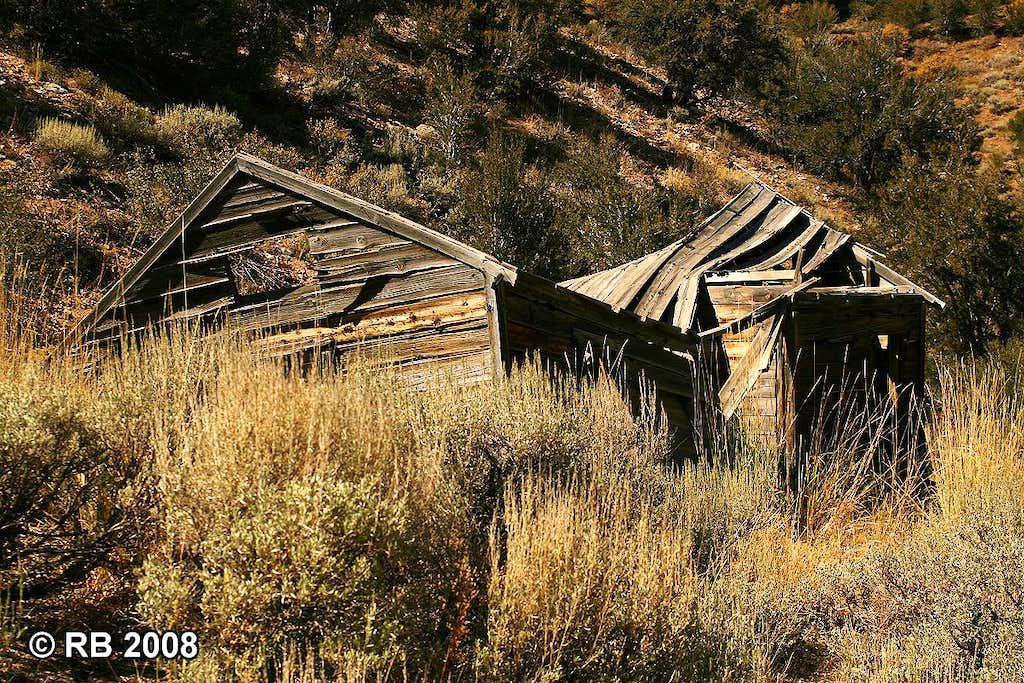 Ruins near Bullion, Nevada