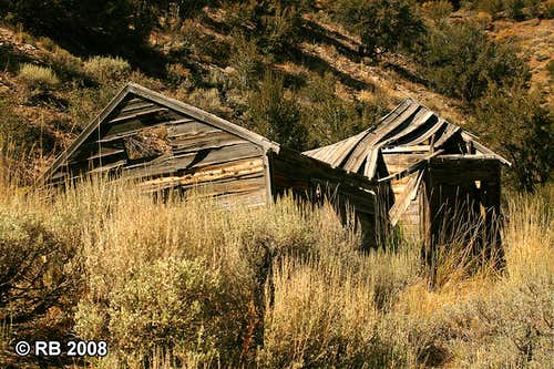 Ruins near Bullion, Nevada