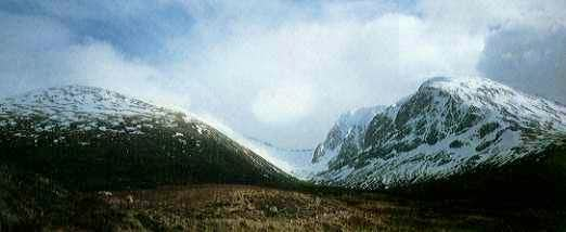 the North face of Ben Nevis...