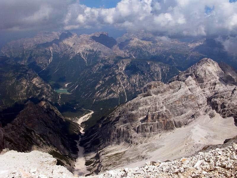 Panorama from Cima di Mezzo