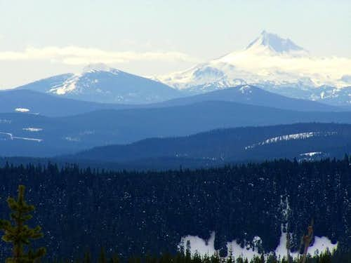 Olallie Butte and Mt....