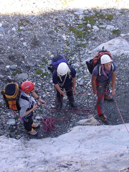 Belaying and instructing