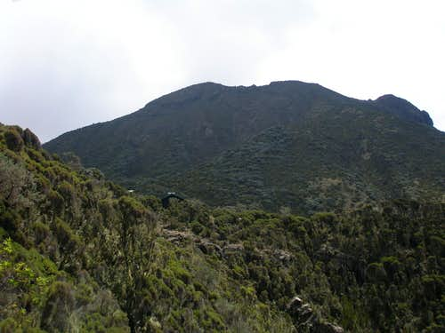 Saddle Hut and Little Meru